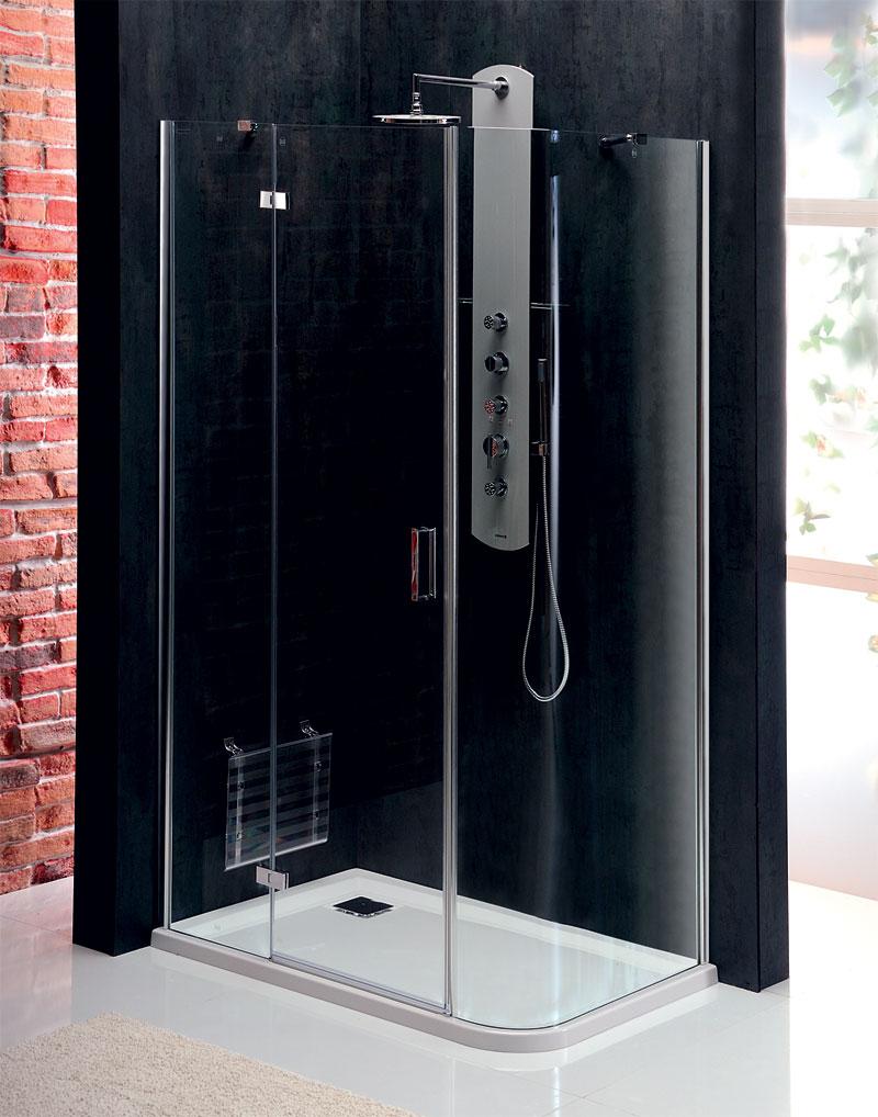 Cabine doccia vitra line cabina doccia rettangolare con for Doccia rettangolare