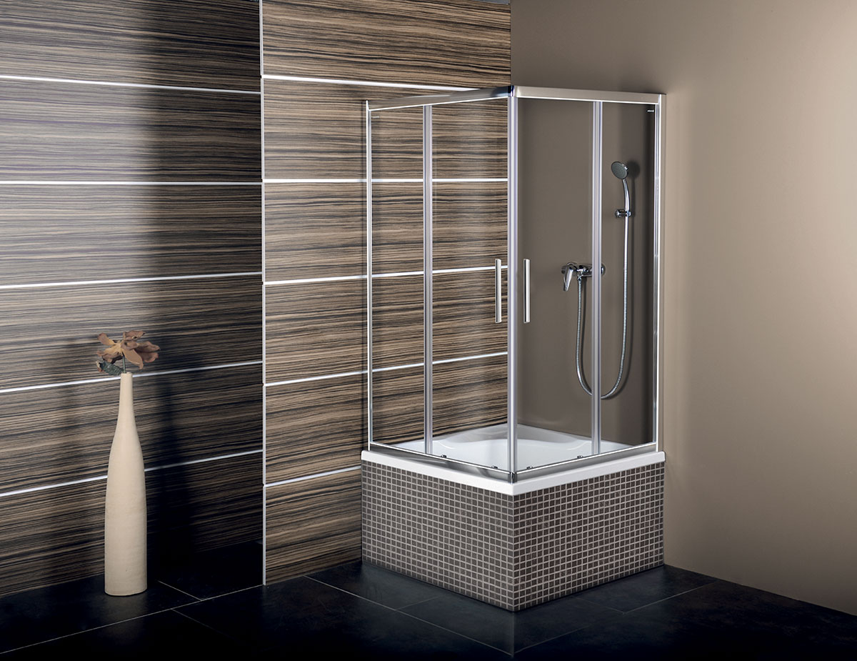 Shower trays acrylate - CARMEN - POLYSAN