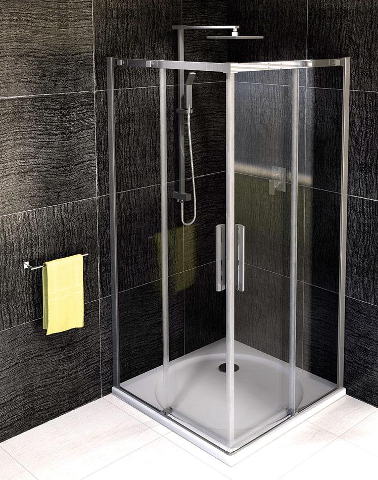 Shower screens ALTIS LINE - Square shower enclosure - POLYSAN