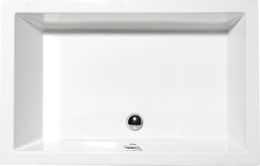 sprchov vani ky akryl tov deep 120x75 polysan. Black Bedroom Furniture Sets. Home Design Ideas