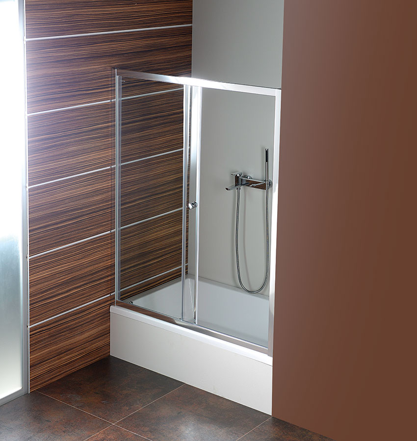 DEEP 120 shower door 1200x1500 mm, clear glass