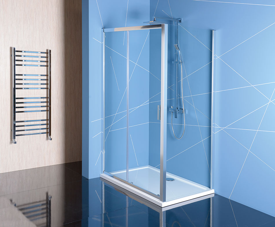 Shower screens EASY LINE - Rectangular shower enclosure (sliding ...
