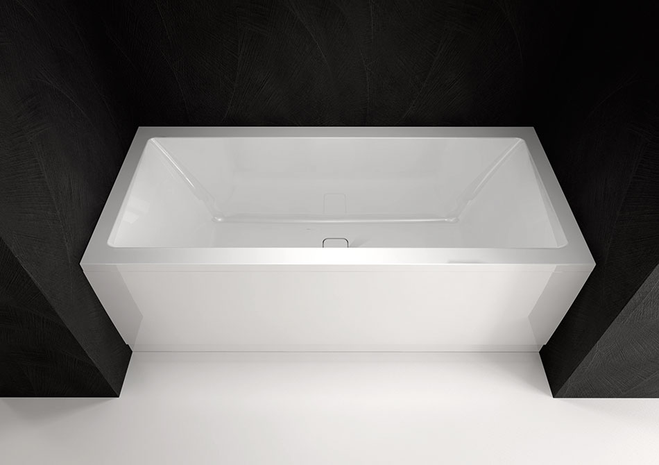 Vasca Da Bagno Ufo : Vasche rettangolari per due persone viva b 185x80 polysan