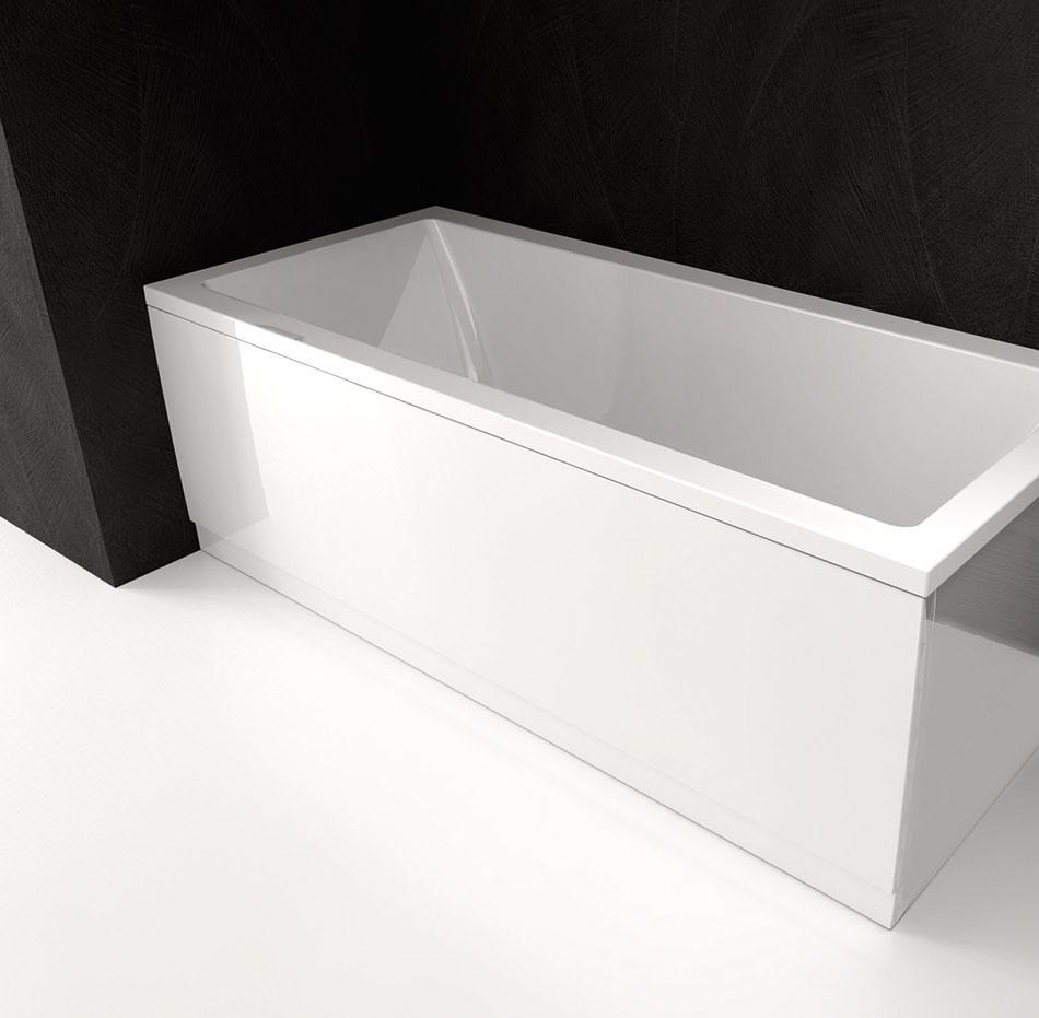 Vasca Da Bagno 130 X 70.Vasche Rettangolari Per Una Persona Lily 130x70 Polysan