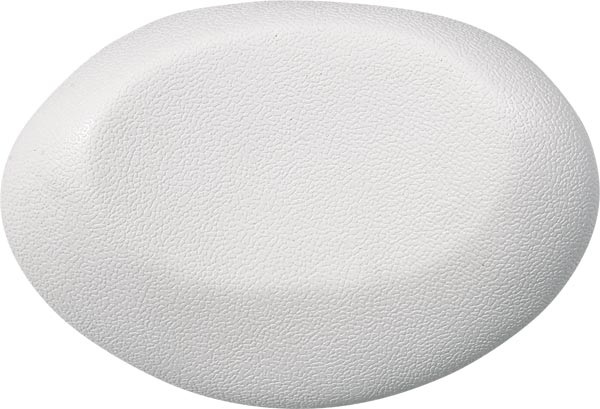 bath cushion UFO 40x17cm, white