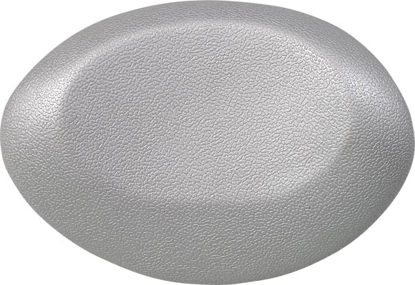 bath cushion UFO 40x17cm, silver