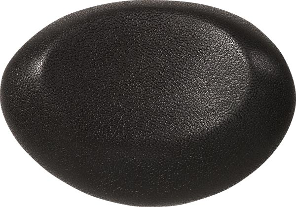 bath cushion UFO 40x17cm, black