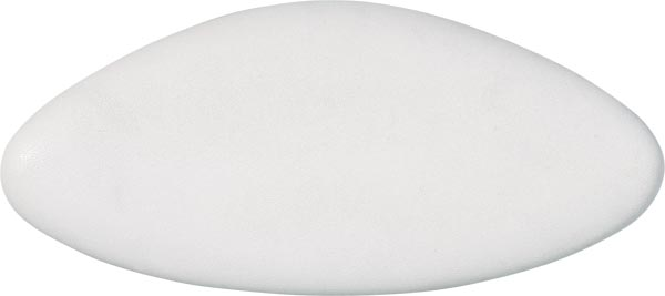 bath cushion STAR 40x17cm, white