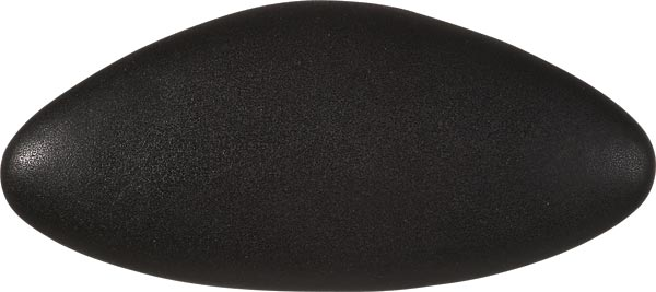 bath cushion STAR 40x17cm, black