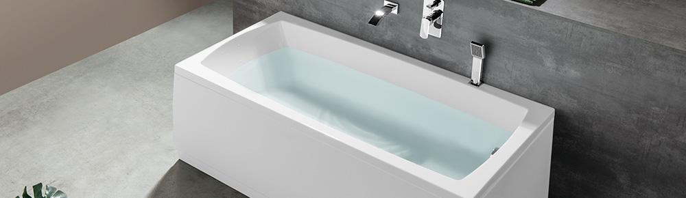 Single Ended Baths Lily 150x70 Polysan
