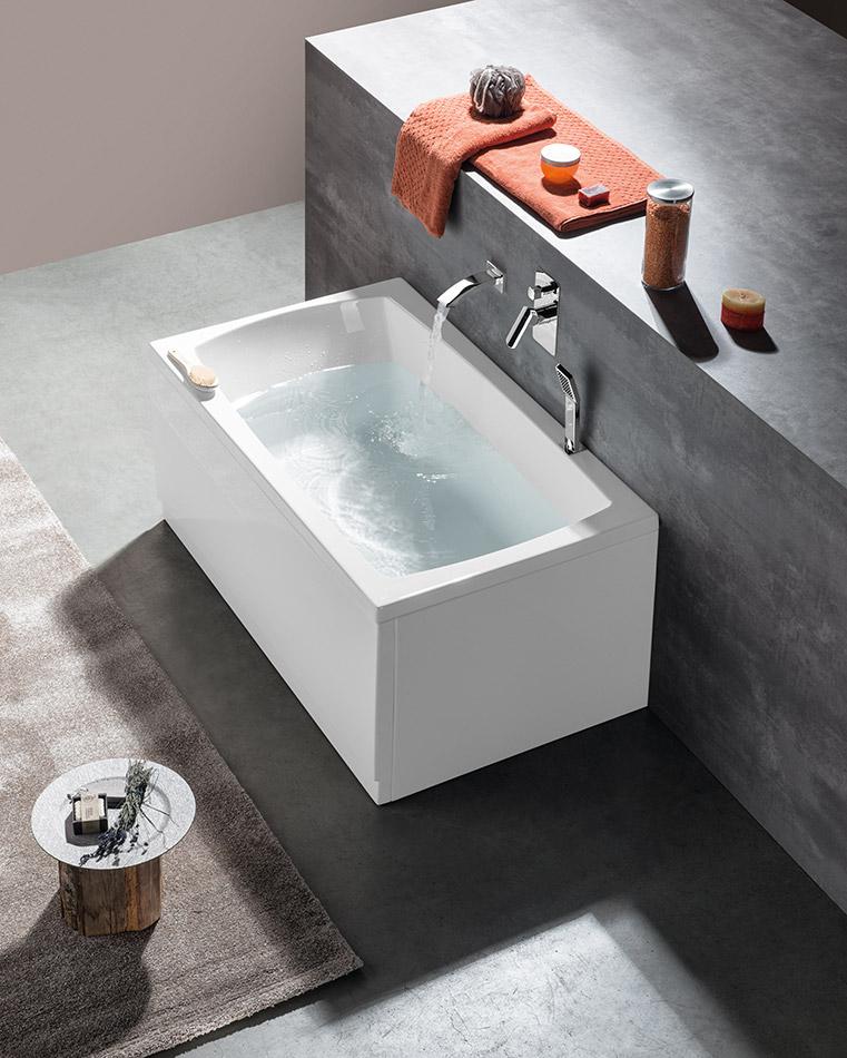 Vasca Da Bagno 120x70.Vasche Rettangolari Per Una Persona Lily 120x70 Polysan